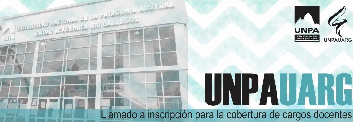 Área: Programación. Inscripción para la cobertura de un cargo docente en la UNPA-UARG